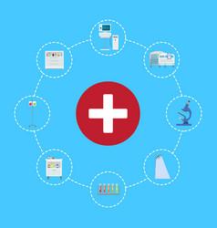 healthcare symbol icon vector image vector image