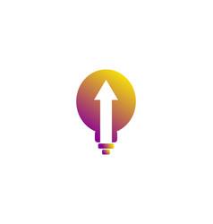 idea creative logo vector image