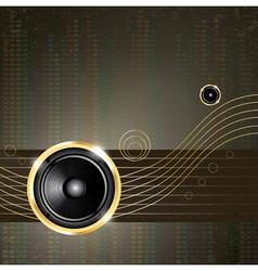 modern music background vector image