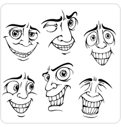 Positive emotions - set vector