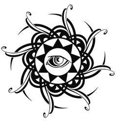 Tattoo Eye vector