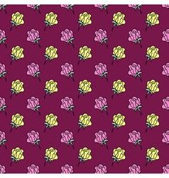 Rose burgundy background vector