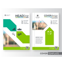 Abstract business and corporate cover design vector