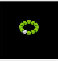 Architecture logo 3d emblem build logo vector