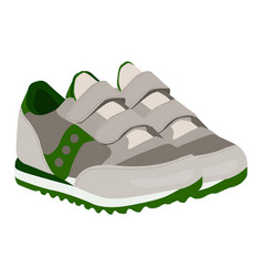 Basneakers icon on a white background vector