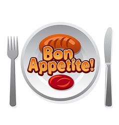 Bon appetit vector