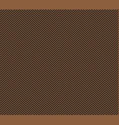 brown herringbone tweed seamless pattern vector image