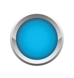 Button icon image vector