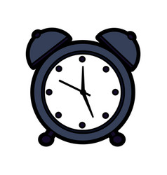 Clock alarm timer business icon vector