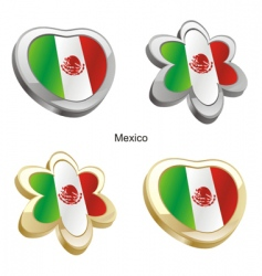 flag of Mexico vector image