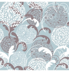 Floral seamless beautiful pattern vector image