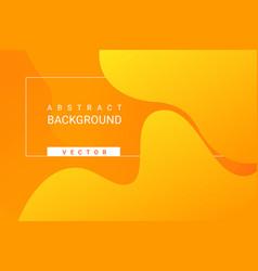 fluid gradient elements for minimal banner logo vector image