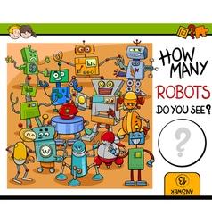 How many robots activity vector