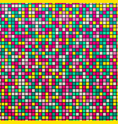 Light mosaic colorful abstract background with vector
