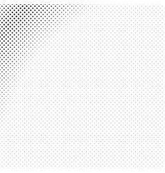monochrome geometrical halftone diagonal square vector image