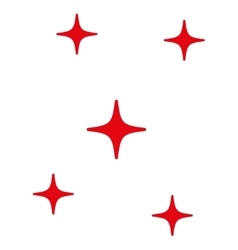 Stars Flat Icon vector