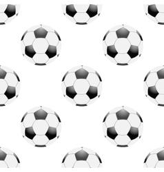 Universal football seamless patterns tiling vector
