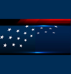 Usa star background vector