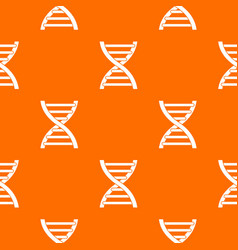 dna pattern seamless vector image vector image