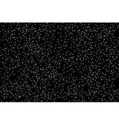 The mysterious starry space vector image