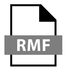 File name extension rmf type vector
