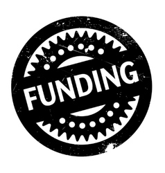Funding rubber stamp vector