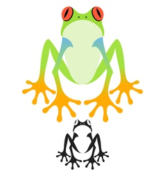 Tree Frog vector