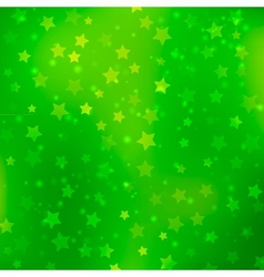 Abstract bokeh star background vector image vector image