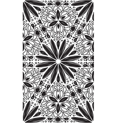 Abstract geometric seamless pattern with hand drow vector