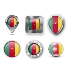 Country Flag Bages vector image
