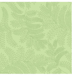 floral seamless pattern leaf background flourish vector image