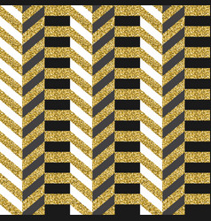 luxury gold glitter abstract 80s seamless pattern vector image