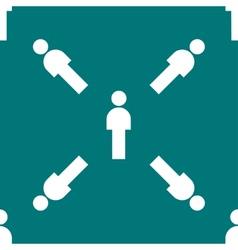 Man restroom web icon flat design Seamless pattern vector
