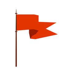 Medieval flag royal heraldic symbol monarchy or vector