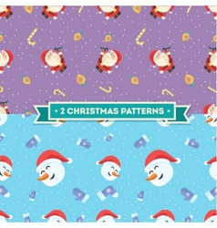 Signs of Christmas Christmas Vintage background vector image