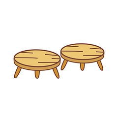 Two Chairs vector