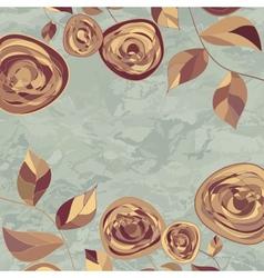 Vintage Rose Background vector image