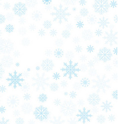Christmas Winter Frame vector image vector image