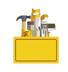 Construction tools kit vector image