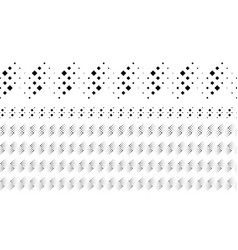Abstract monochrome diagonal square pattern page vector