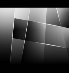 Abstract technology grey background vector