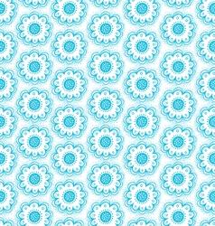 Dala flowers pattern vector image