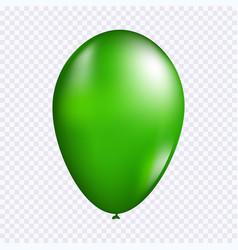 green balloon vector image