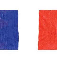 national flag france vector image