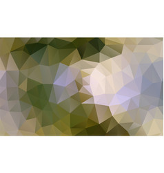 polygon background green wood vector image