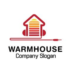 Warm House Design vector