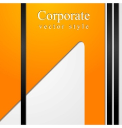 abstract business technology backdrop vector image vector image