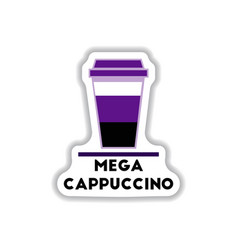 Label frames and badges icons coffee emblem mega vector