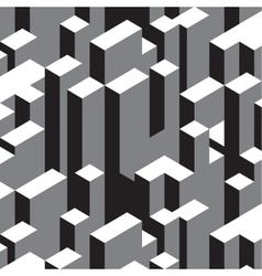 city skyscrapers background vector image vector image
