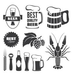 Beer symbols vector